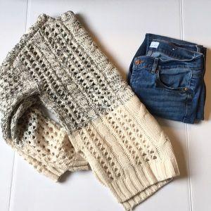 DEX Color Block Sweater